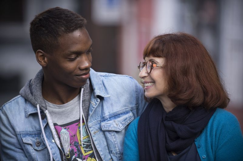 Ahmed Dramé e Ariane Ascaride