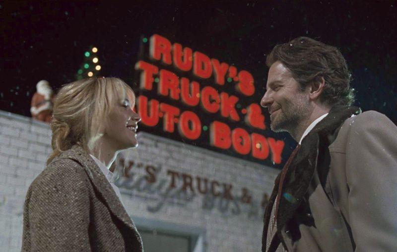 La Lawrence con Bradley Cooper