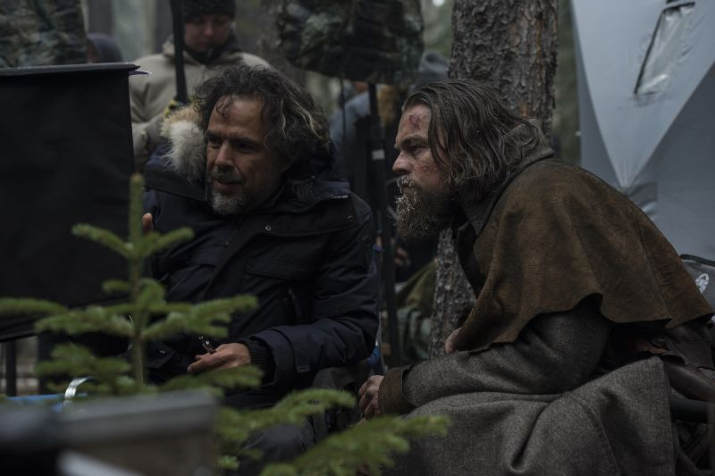 Sul set con Iñárritu Copyright © 2015 Twentieth Century Fox Film Corporation. All rights reserved. THE REVENANT Motion Picture Copyright © 2015 Regency Entertainment (USA), Inc. and Monarchy Enterprises S.a.r.l. All rights reserved.Not for sale or duplication.