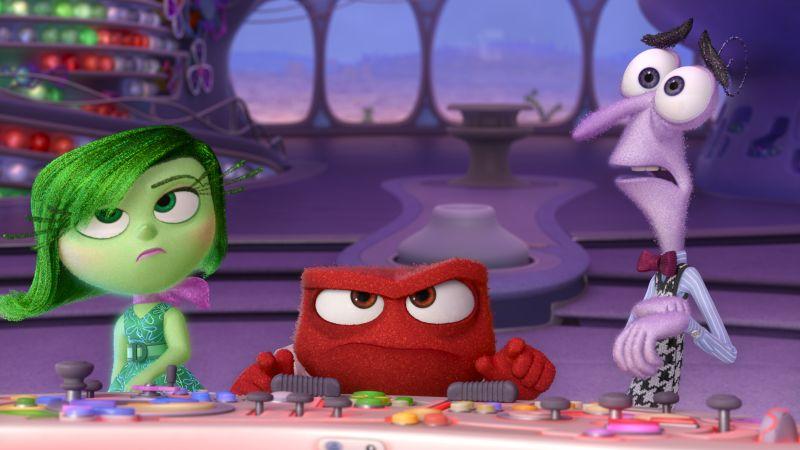 Disgusto, Rabbia e Paura (©2015 Disney•Pixar. All Rights Reserved.)