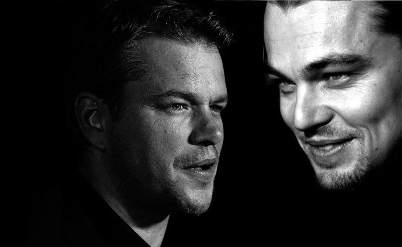 15-Leonardo DiCaprio Matt Damon
