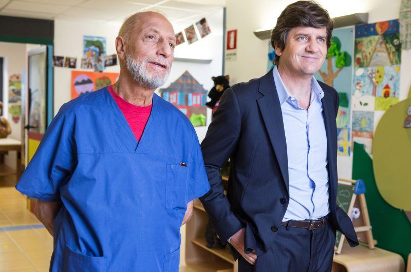 Pippo Franco e Fabio De Luigi (foto di Loris T. Zambelli - Photomovie)