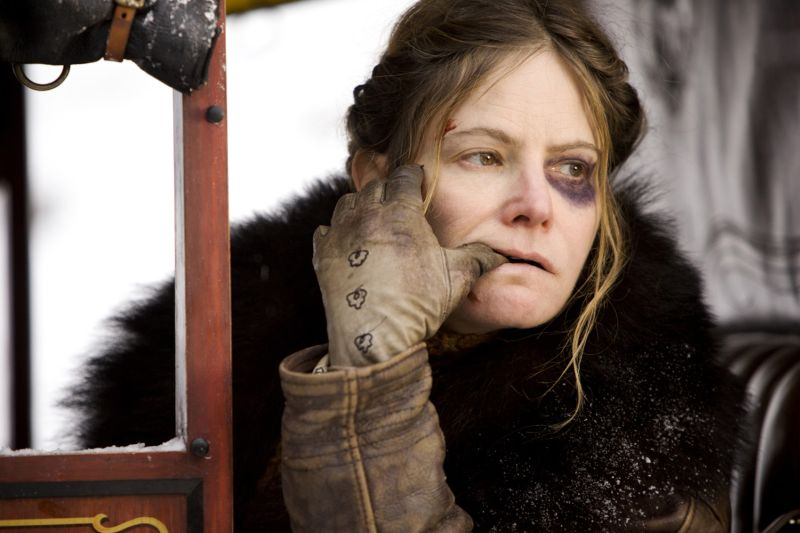 Jennifer Jason Leigh, candidata all'Oscar (Photo: Andrew Cooper, SMPSP © 2015 The Weinstein Company. All Rights Reserved).