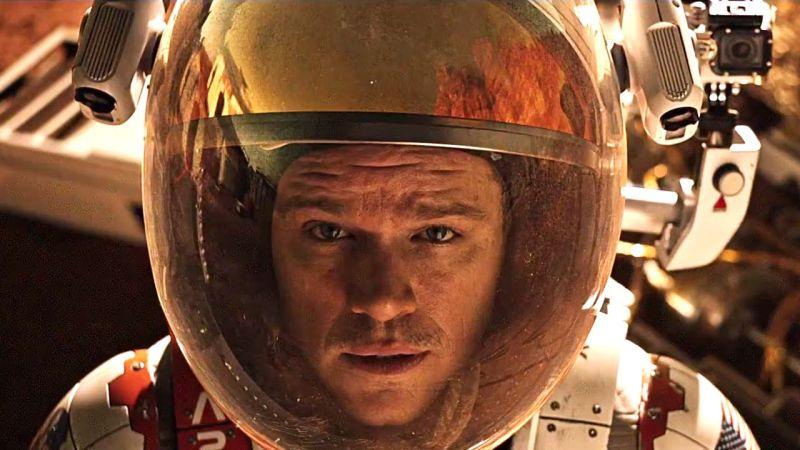 """Il cameralook di Matt Damon in """"The Martian - Sopravvissuto"""""""