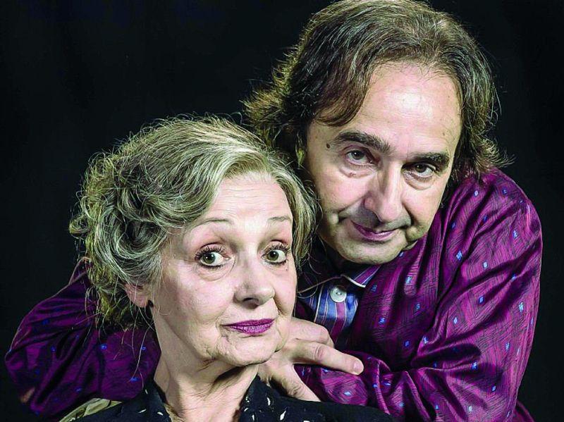 Milena Vukotic e Antonello Avallone
