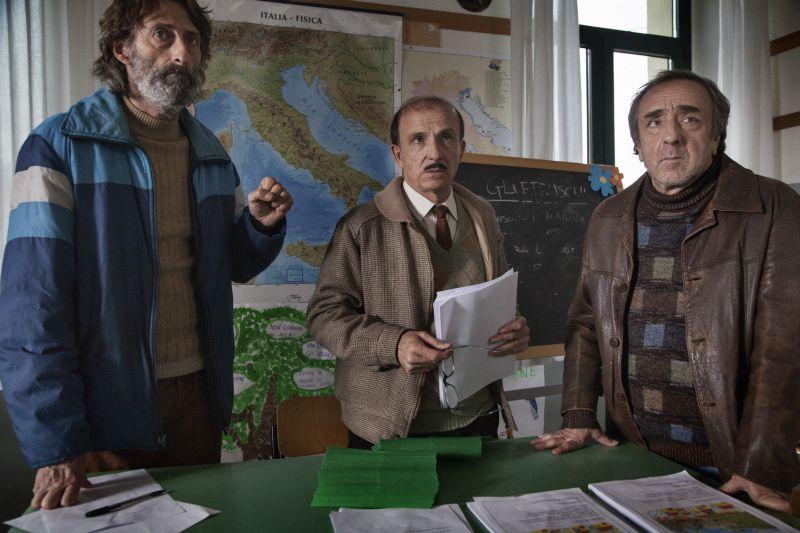 Nando Paone, Carlo Buccirosso e Silvio Orlando