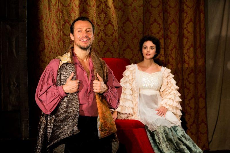 Stefano Accorsi e Silvia Ajelli (foto di Andrea Pirrello)