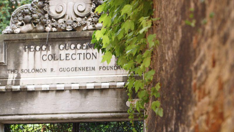 L'ingresso della Peggy Guggenheim Collection a Venezia