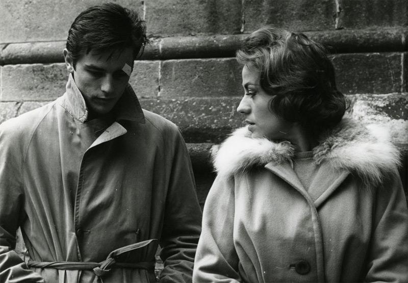 Alain Delon e Annie Girardot