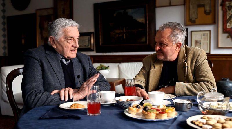 Lorenzo Ventavoli e Steve Della Casa (foto di Davide Greco)
