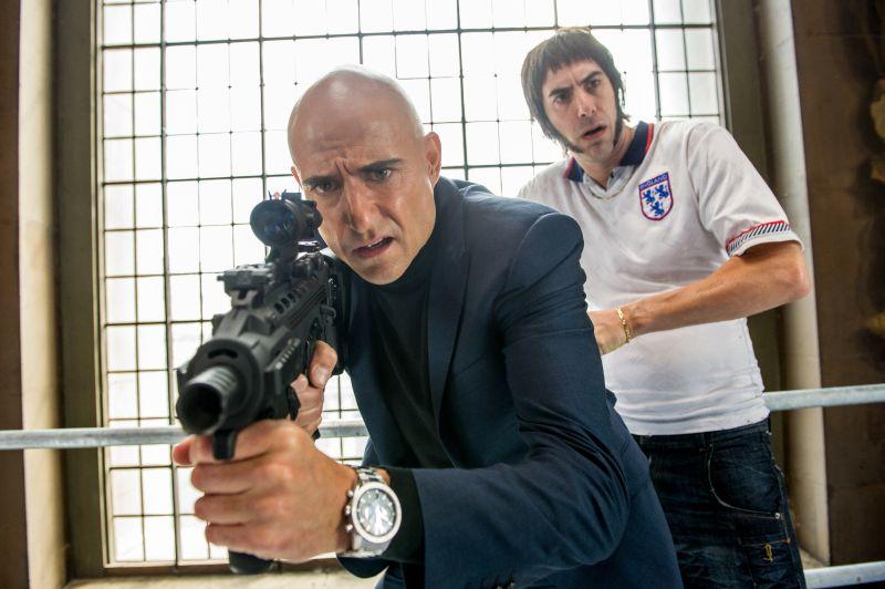 Sacha Baron Cohen;Mark Strong