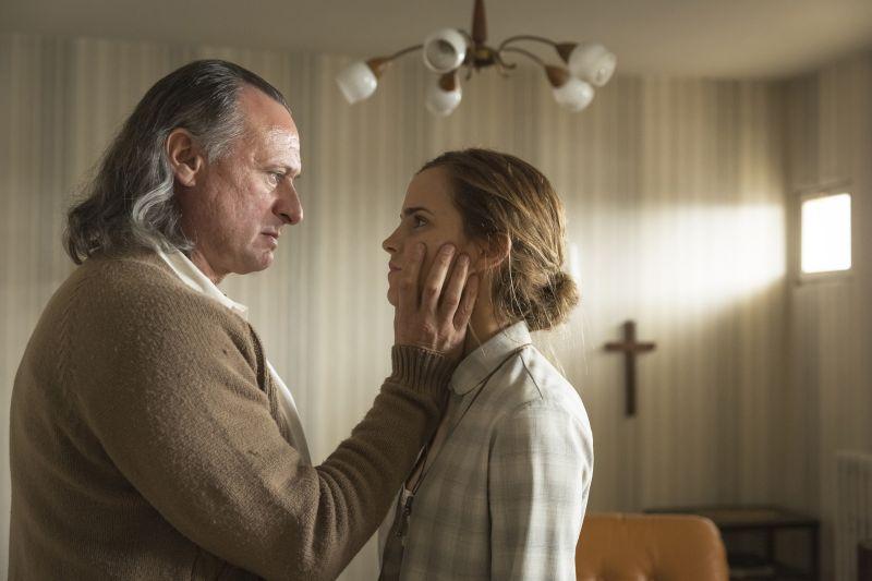 Michael Nyqvist e Emma Watson