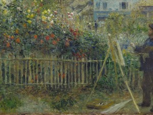 Modern-Garden-Claude-Monet-Painting-in-His-Garden-at-Argenteuil1