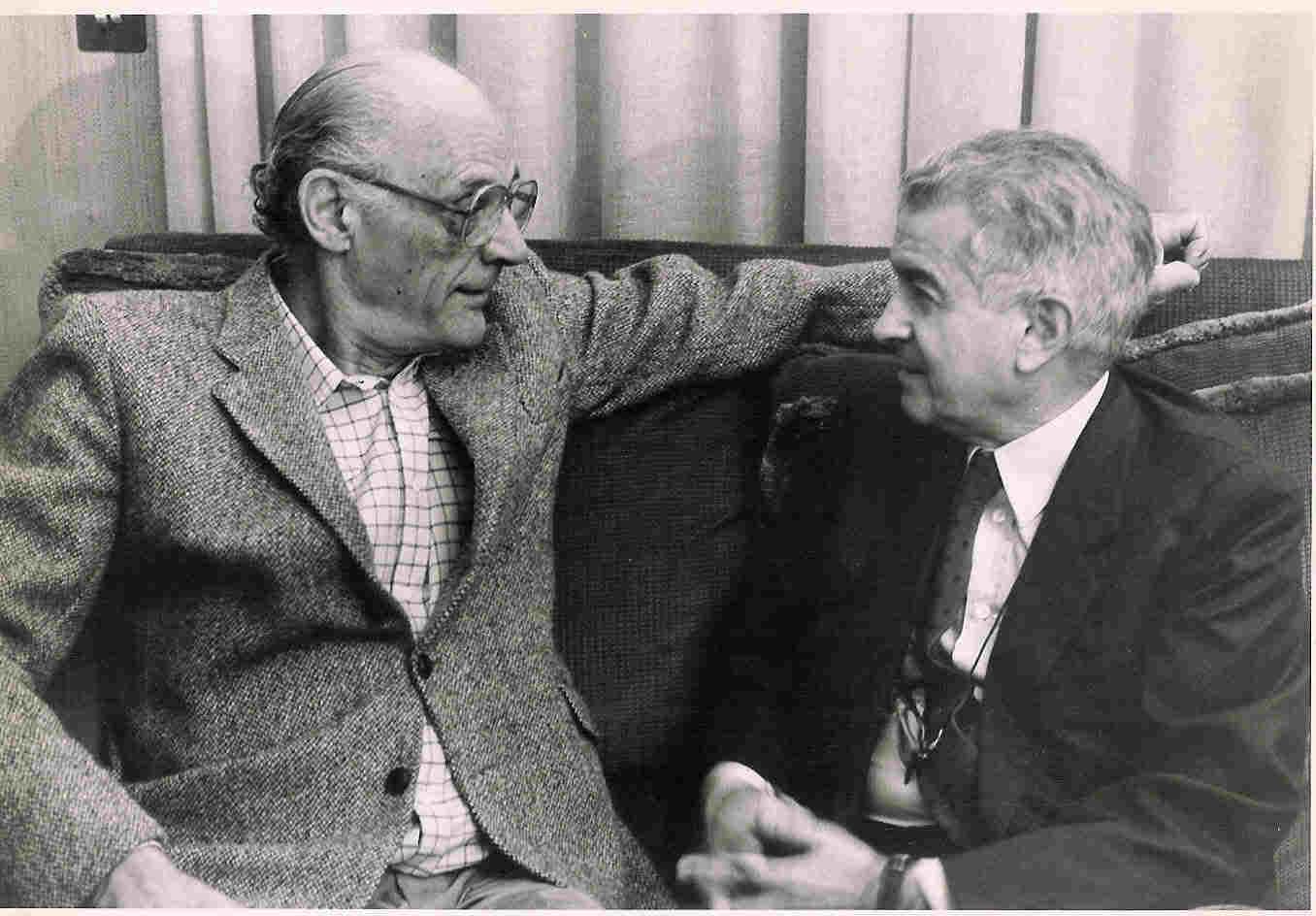 Guerrieri con Arthur Miller, 1981