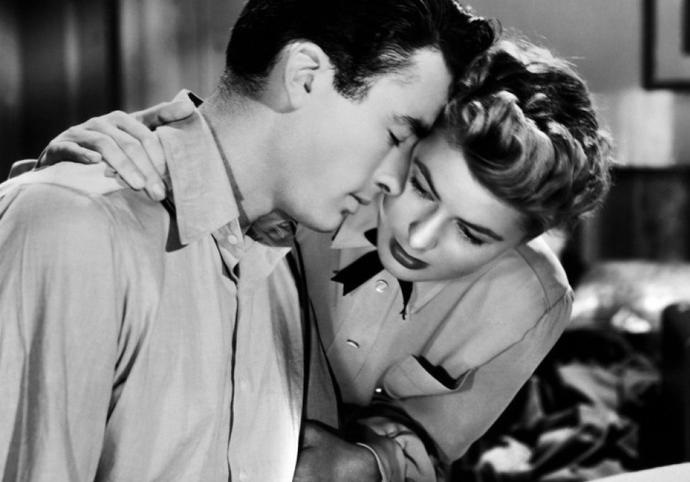 Gregory Peck e Ingrid Bergman