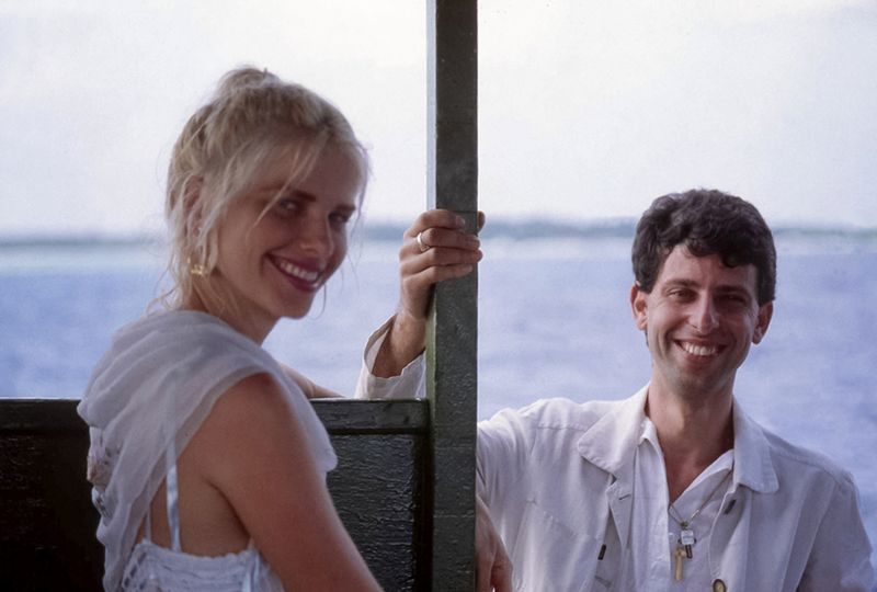 Ilona Staller con Riccardo Schicchi (foto Archivio Riccardo Schicchi)