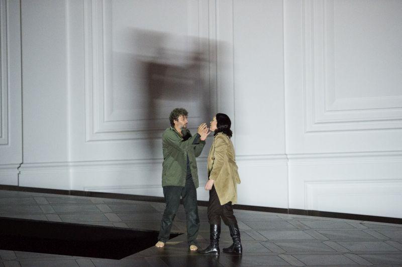 Jonas Kaufmann e Adrianne Pieczonka (foto copyright: Monika Rittershaus)