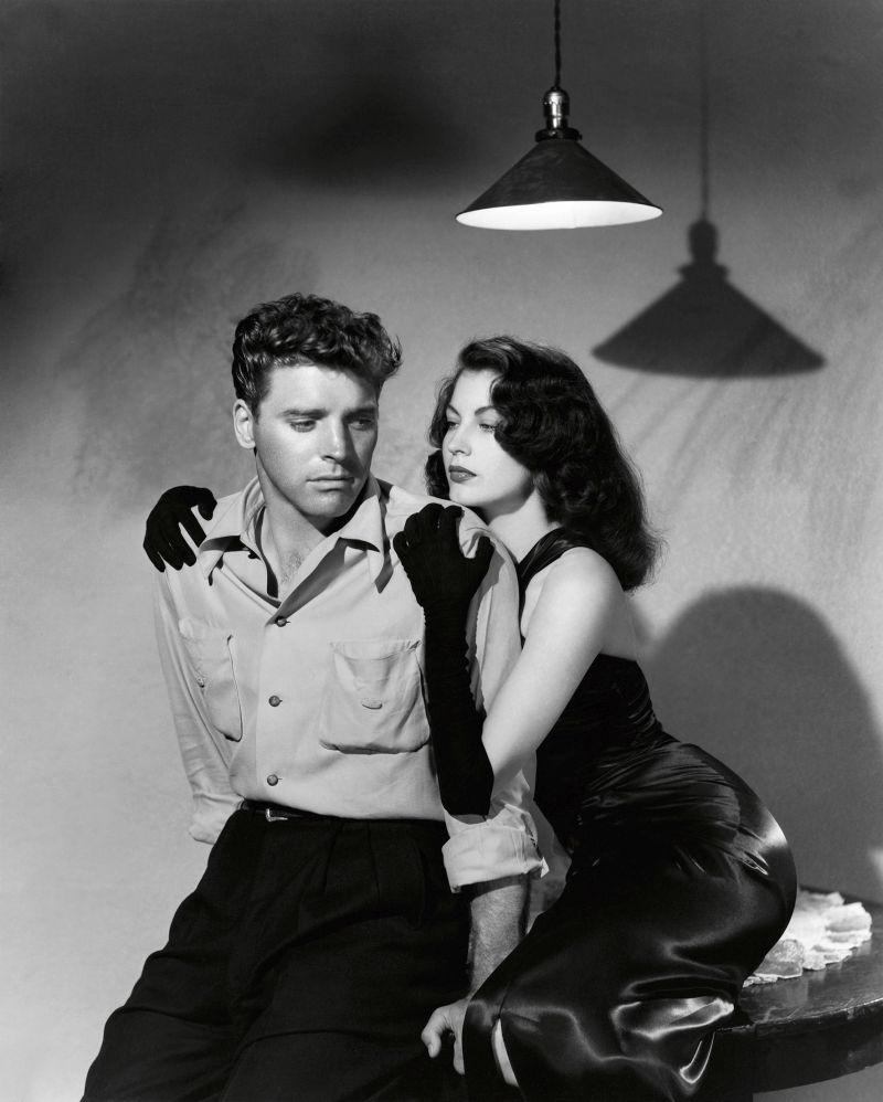 Burt Lancaster and Ava Gardner by Ray Jones for The Killers, 1946. Universal Pictures © John Kobal Foundation