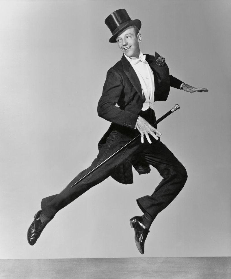 Fred Astaire, attributed to John Miehle for Top Hat, 1935. RKO © John Kobal Foundation