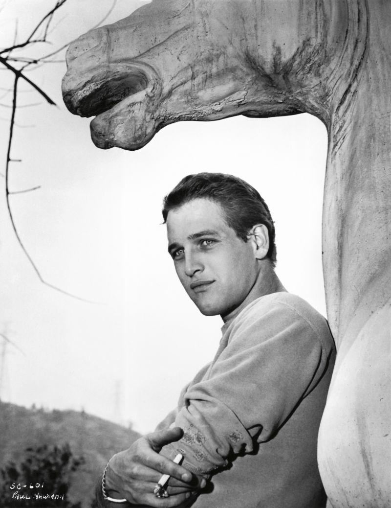 Paul Newman by Bert Six, 1954. Warner Bros © John Kobal Foundation