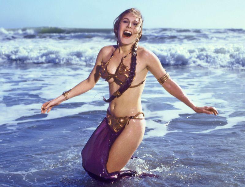 Carrie Fisher as Principessa Leila
