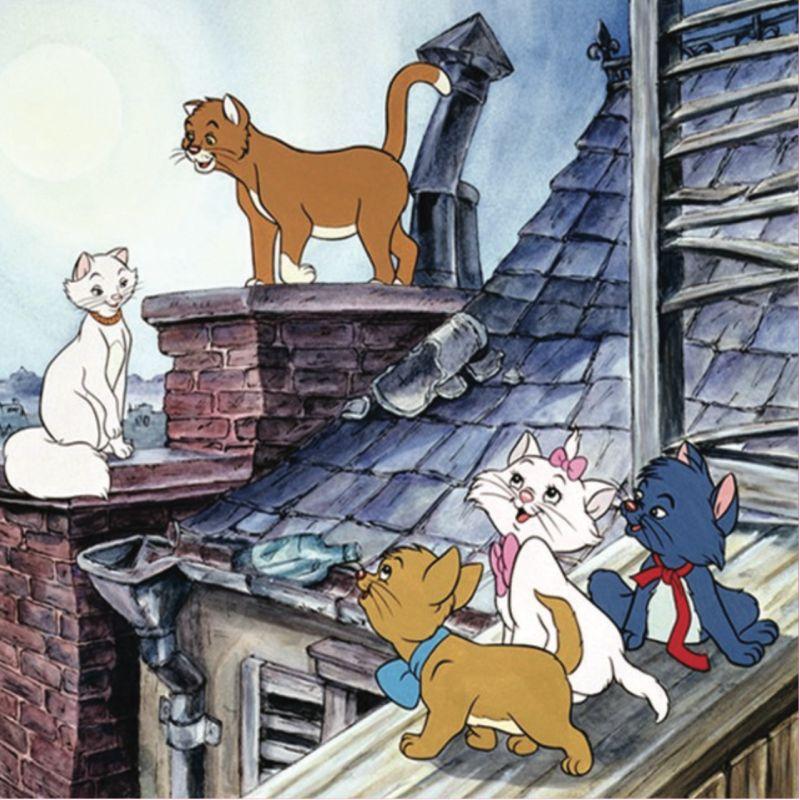 """""""Gli Aristogatti"""" (foto Walt Disney)"""