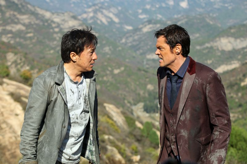 Jackie Chan e Johnny Knoxville