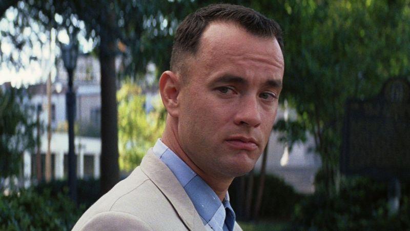 "Tom Hanks nel memorabile ""Forrest Gump"""