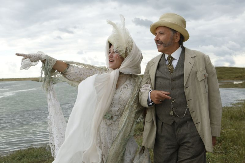 Valeria Bruni Tedeschi e Fabrice Luchini