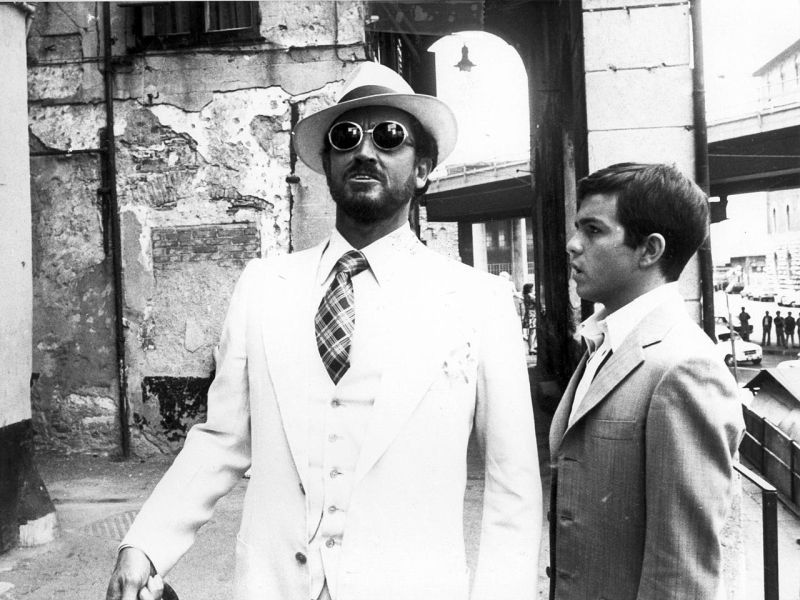Vittorio Gassman con Alessandro Momo
