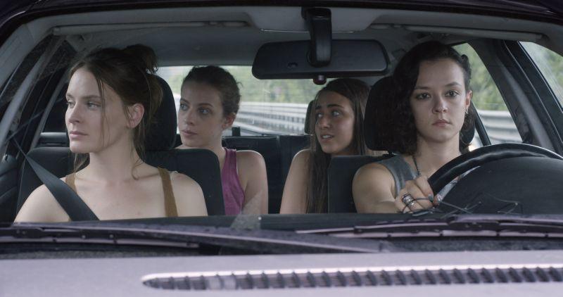 Marta Gastini, Laura Adriani, Maria Roveran e Caterina Le Caselle
