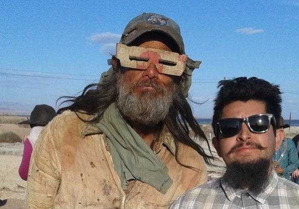 "Jim Carrey sul set di ""The Bad Batch"""