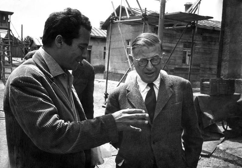 Con Sartre sul Set di Kapo'