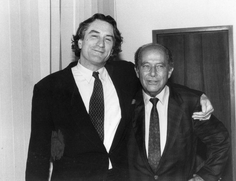 Con De Niro per A Bronx Tale