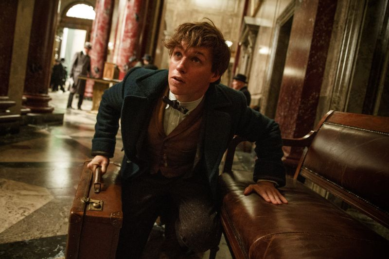 Eddie Redmayne è Newt Scamander (© 2016 WARNER BROS ENTERTAINMENT INC. ALL RIGHTS RESERVED Photo Credit: Jaap Buitendijk)