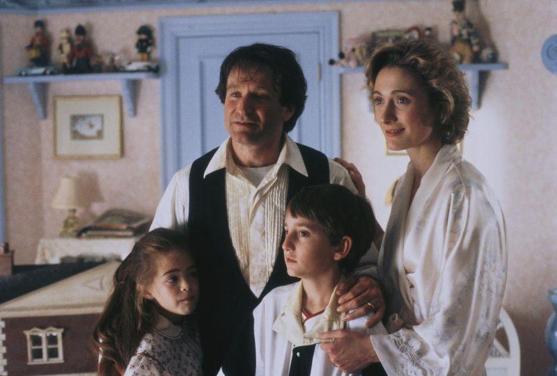 La famiglia Banning nel finale del film