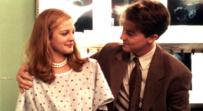 Drew Barrymore e Edward Norton