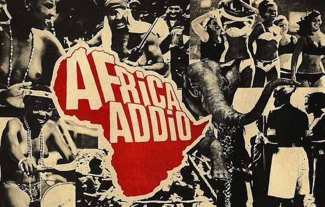 """Fotobusta """"Africa Addio"""", 1966, Gualtiero Jacopetti Franco Prosperi"""
