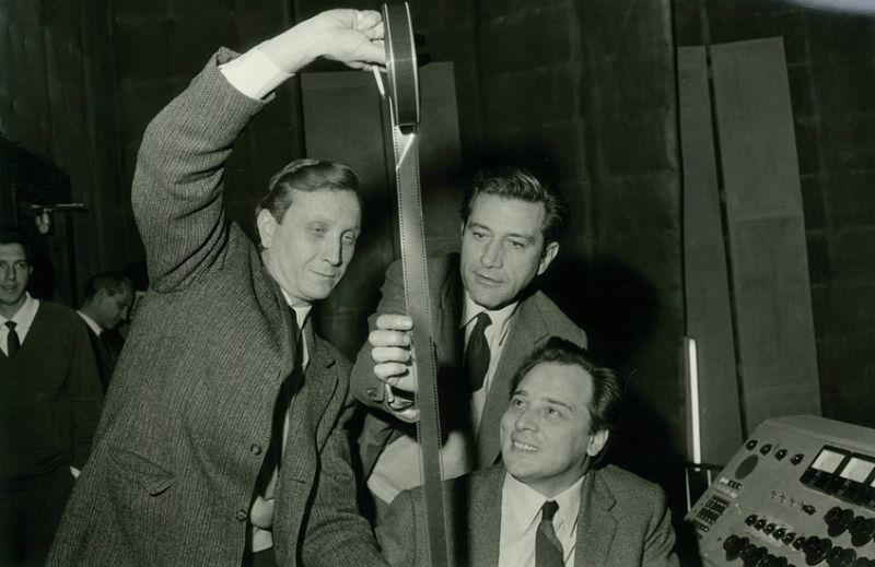 Franco Prosperi, Gualtiero Jacopetti e Riz Ortolani