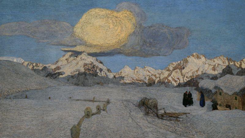 Trittico: La Morte Museo Segantini di Saint Moritz