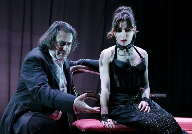Valeter Malosti e Sabrina Impacciatore (Photo Credit: © Fabio Lovino)