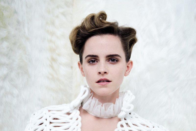 """Emma Watson nello scatto su """"Vanity Fair"""""""