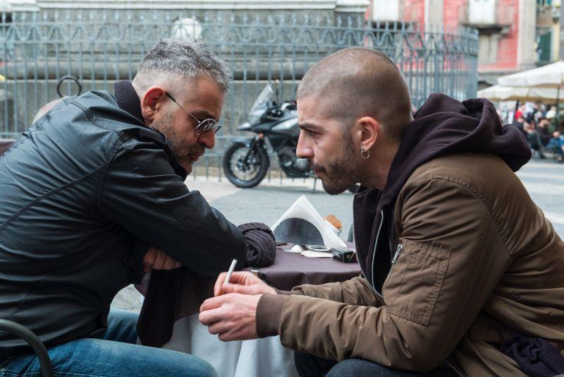 Fortunato Cerlino e Michele Riondino (foto di Gianni Fiorito)