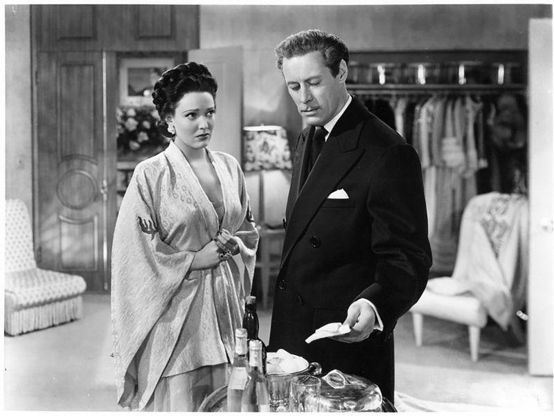 Linda Darnell e Rex Harrison