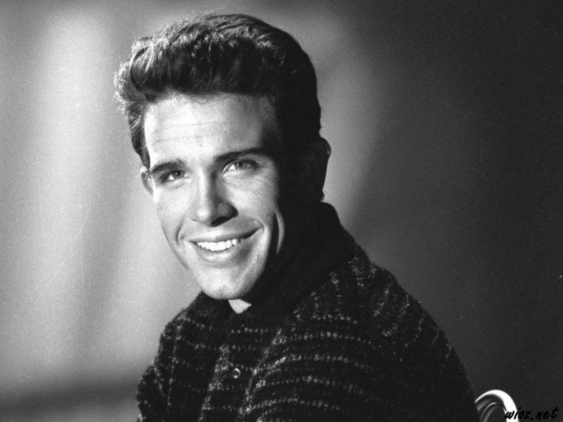 Un giovane Warren Beatty