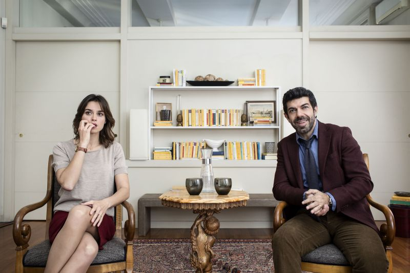 Kasia Smutniak e Pierfrancesco Favino