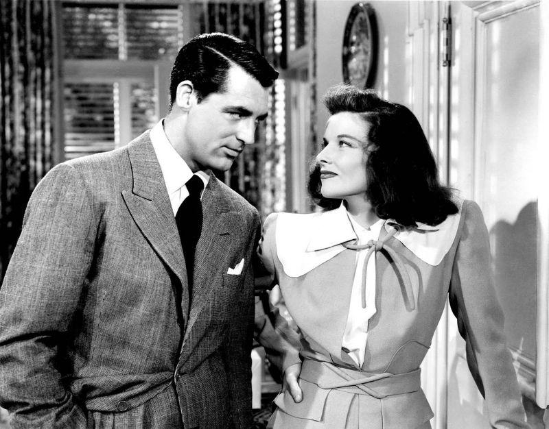 """Con Cary Grant in """"Scandalo a Filadelfia"""""""