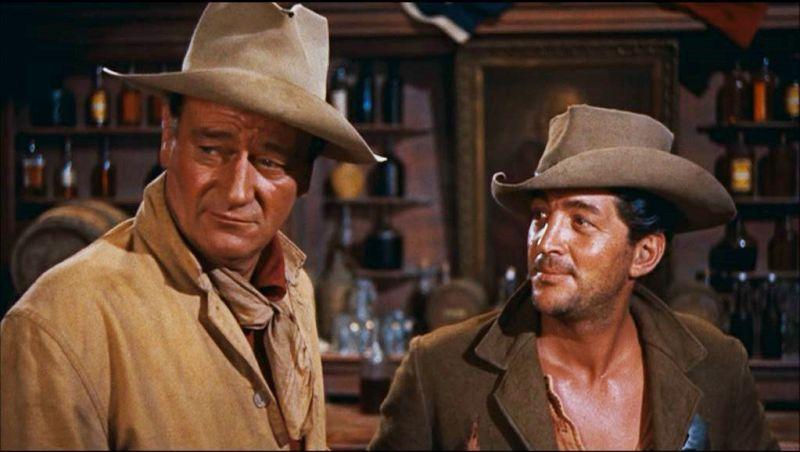 Con John Wayne