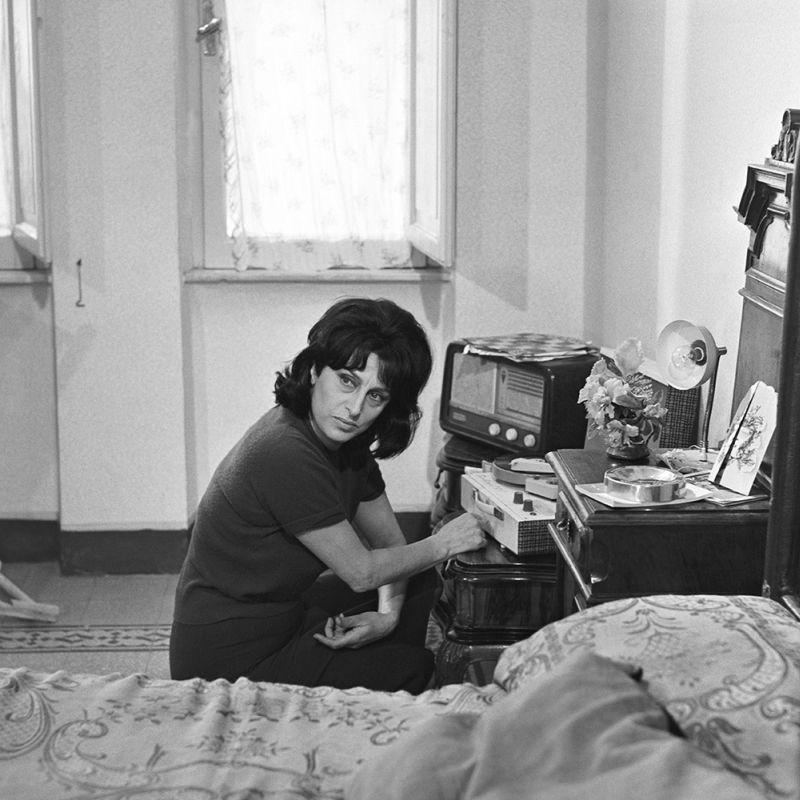 """In """"Mamma Roma"""" (foto di Divo Cavicchioli)"""