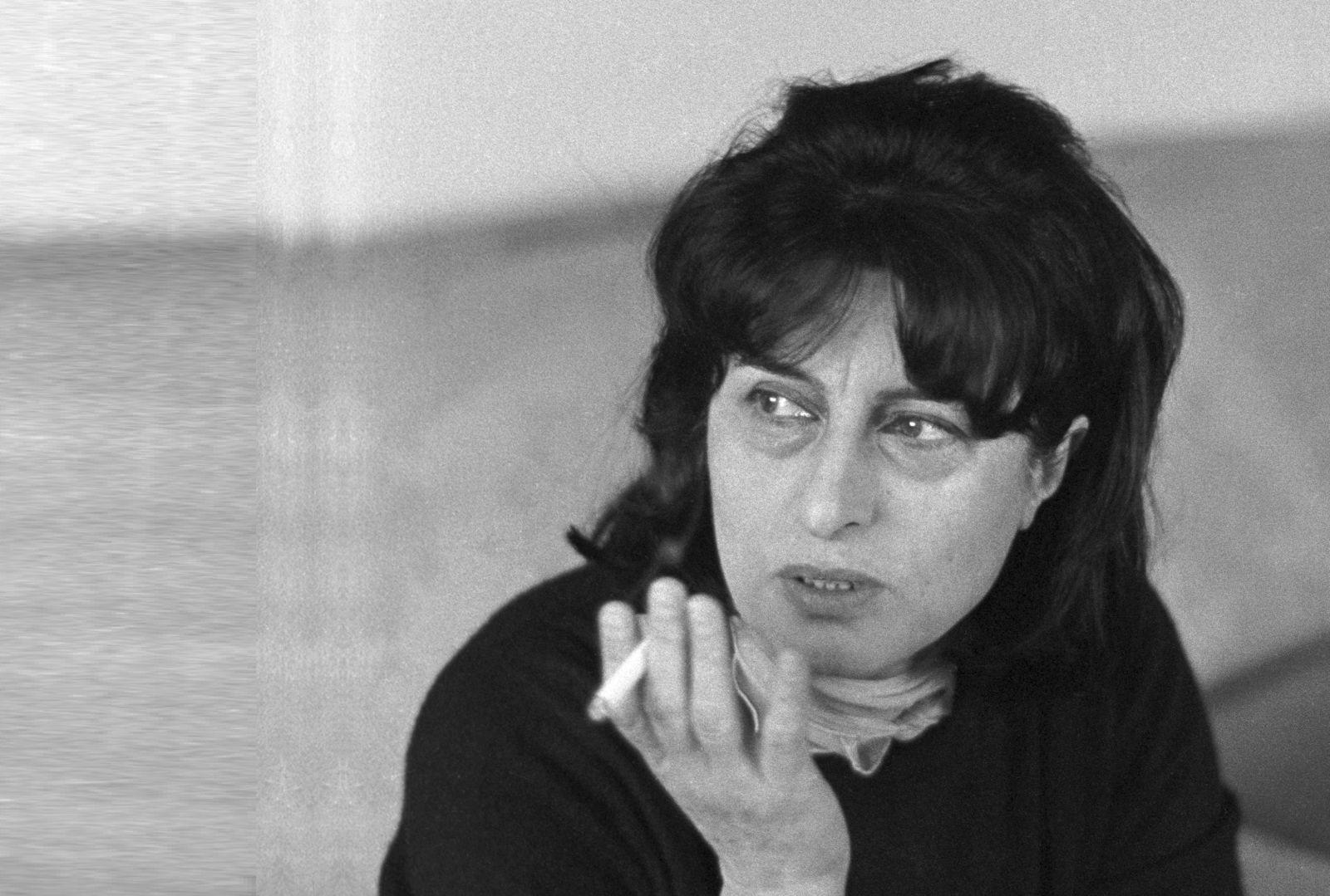 Ritratto di Anna Magnani (1965). Foto di Angelo Frontoni La foto proviene dall'archivio fotografico del CSC Cineteca Nazionalesss